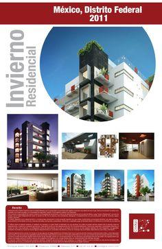 Proyecto Invierno Residencial. Residecial. México, Distrito Federal.