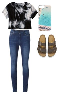 """""""I WOULDNT MIND WEARING THIS"""" by brisabella ❤ liked on Polyvore featuring beauty, 7 For All Mankind, American Eagle Outfitters, Birkenstock and Gray Malin"""