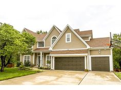 This one has it car, finished walkout basement, cul-de-sac & fantastic private acre level backyard! Basement Built Ins, Basement Windows, Walkout Basement, Basement Walls, Kansas City Real Estate, Window Replacement, Tall Ceilings, Property Search, Backyard Patio