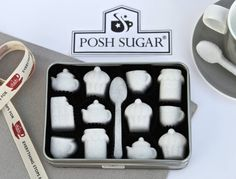 Teatime Sugar Shapes