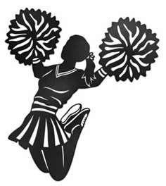 Cheerleading Silhouette Yahoo Image Search Results Cheer Pom Poms Cheerleading Gifts Cheerleading
