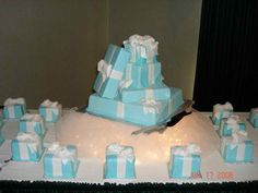 These cakes were excellent!!...although this event happened a few years ago, I had to post......My daughter, Taliah's, Quince/Sweet 16 cakes, inspired by singer Toni Braxton's wedding cake, were FABULOUS in taste, design and presentation! Thank you, Bev, for recreating a true confection!!! The 16 individual cakes and the centerpiece cake as well...you are amazing!