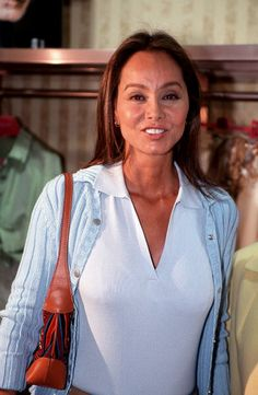 Caption:XXII Edition Needle of Gold. Isabel Preysler attended as jury in the XXII edition of the Needle of Gold 2002, granted to the designer Oscar de la Renta.