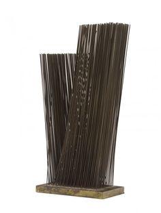 "Harry Bertoia, sculpture ""Two Tone Tonal"""
