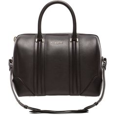 GIVENCHY Medium Lucrezia Bag ($2,750) ❤ liked on Polyvore featuring bags, handbags, black handbags, givenchy, givenchy handbags, black purse and givenchy bags