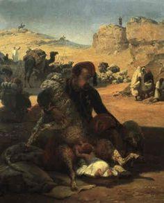 Le soldat nourrice 1847
