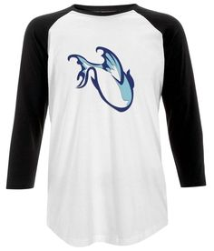 Unisex Fish Baseball T-shirt
