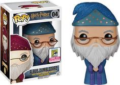 Figurine pop Albus Dumbledore robe bleue - Harry Potter - Funko Pop! Vinyl