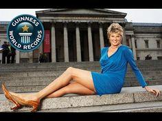 Longest Female Legs - Die Längsten Frauenbeine!! -- Guinness World RecordSvetlana Pankratova (Russia) has the world's longest legs, verified as measuring 132 cm (51.9 in) on the set of Guinness World Records in Madrid, Spain on 30 December 2008.