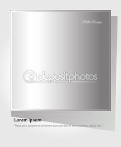 Instant Photo Frame. Vector Illustration. Frame background. Realistic paper photograph with shadow isolated on retro background. Design element Photo frame. Photo frame paper Instant photo banner 2016 — Stock Vector © sofiartmedia.gmail.com #125385306