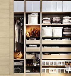 New ikea bedroom storage closet system small spaces drawers ideas Closet Storage Systems, Ikea Closet Organizer, Best Closet Organization, Wardrobe Systems, Closet System, Pax Wardrobe, Pax Closet, Pax System, Master Closet
