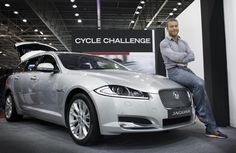 SIR CHRIS HOY LAUNCHES JAGUAR CYCLE CHALLENGE AT THE LONDON BIKE SHOW