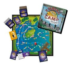 A fun game for the whole family. With four levels of questions, #FishingCamp will challenge a 4 year old as well as a 70 year old. Level one questions are primarily identification of fishing items and fish species. #BoardGame
