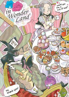 WonderlandXOne Piece crossover!   Sir Crocodile and Vivi
