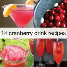 14 Cranberry Drinks to Crave for the Holidays!
