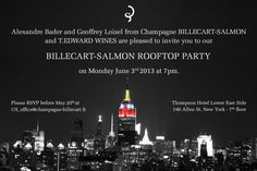 Billecart-Salmon Rooftop Party