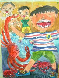 관련 이미지 Painting For Kids, Painting & Drawing, Art For Kids, Kid Art, Art Lessons Elementary, Autumn Art, People Art, Love Art, Art Education