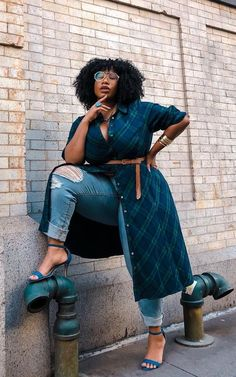 New Look Plus Size Outfits Plus Size Fashion For Women, Plus Size Women, Plus Fashion, Womens Fashion, Plus Size Fasion, Fat Fashion, Fashion Edgy, Grunge Fashion, Work Fashion