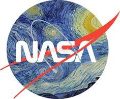 NASA Starry Worm by Nikki Bolton