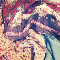 #iamgarnet vintage scarves