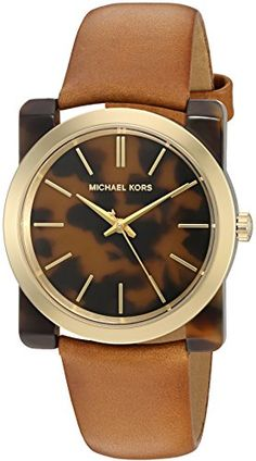 Michael Kors Women's Kempton Quartz Resin and Leather Casual Watch, Color:Brown (Model: MK2484) https://www.carrywatches.com/product/michael-kors-womens-kempton-quartz-resin-and-leather-casual-watch-colorbrown-model-mk2484/ Michael Kors Women's Kempton Quartz Resin and Leather Casual Watch, Color:Brown (Model: MK2484)