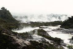 Tom Blachford - Taken in New Zealand, I really like the many layers that are a part of this photograph.  There is a lot going on, but how Blachfrod has set up the composition, it makes the  viewer more interested, rather than overwhelmed. The mist coming off of the hot springs is really something else and I love how this mist makes some of the mountains fade off into the background.  Without the mist, this photo has a very jungle feel to it, because the greenery seems very thick and lush.