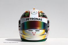 Arai GP-6 L.Hamilton 2014 by JLF Designs