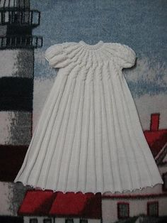 Ravelry: Raveling Cables Christening Gown pattern by Judy Lamb - free pattern