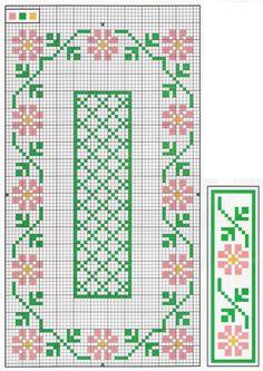 floral border set