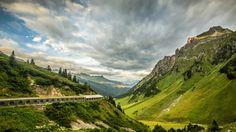 Flexenpass Tunnel in the Austrian Alps by Martin Walser on Mountain Pass, Winter Time, Alps, Genealogy, River, Mountains, Nature, Winter, Naturaleza