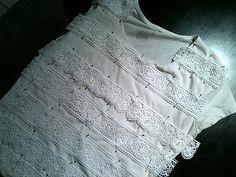 Lace Shirt DIY