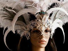 beautiful and extravagant mask