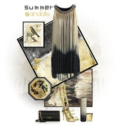 """The Cutest Summer Sandals"" by dadanana ❤ liked on Polyvore featuring NOVICA, Leftbank Art, Giuseppe Zanotti, Chicwish, Miu Miu, Tom Daxon, CB2, Dot & Bo and Barbera"