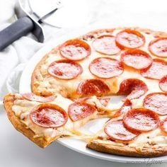 Fathead Pizza Crust Recipe (Low Carb Keto Pizza)