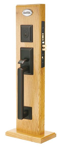 Emtek Hamden Brass Entry Door Handle - Shop Entry Set Door Locks ...