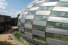 Philologische Bibliothek der Freien Universität Berlin (2001-2005)  Architects: Foster and Partners