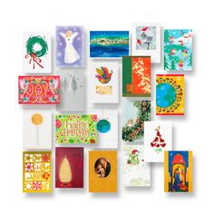 UNICEF Market | Assorted UNICEF Holiday Greeting Cards (Set of 20) - Holiday Collection