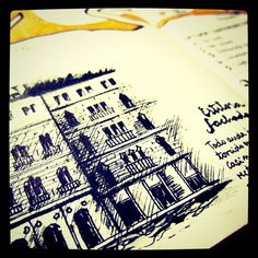 #moleskine #moleskineart #sketch #drawing #handwriting #ink #diary #traveldiary #travel