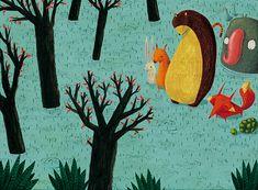 Después de la lluvia. Libro editado por Kalandraka y VIII Premio Internacional de Compostela 2015.