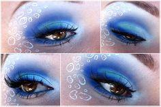 Sailor Mercury eye make up