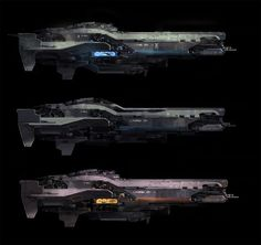 """SPARTH - """"Forward Unto Dawn"""" spaceship explorations. Halo..."""