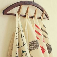 Make your own designed tea towels!