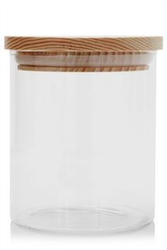 Buy Glass Storage Jar With Wooden Lid from the Next UK online shop