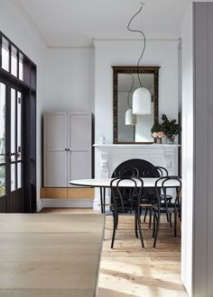 Does It Spark Joy? Inspired Storage Ideas From Five Great Australian Designers (The Design Files) Be Design, The Design Files, Design Ideas, Dining Room Walls, Dining Room Design, Dining Room Inspiration, Interior Inspiration, Design Inspiration, Minimalist Dining Room