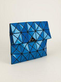 BAO BAO ISSEY MIYAKE - triangle panel clutch 9