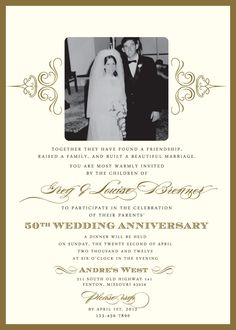 60th Wedding Anniversary Invitation Wording Samples Anniversary Party ...