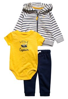 111560229e8c3 Carter s LITTLE COLLECTIONS BABY SET - Body - navy - Zalando.pl Moda  Dziecięca