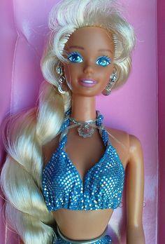 Sparkle Beach Barbie, 1995 (Long hair version) by R. Berlin, via Flickr