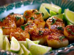 Cilantro Scallops Recipe : Marcela Valladolid : Food Network - FoodNetwork.com