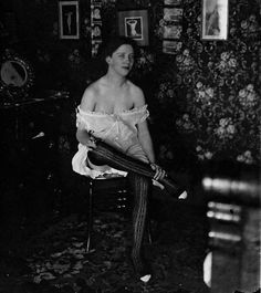 black and white portraits of the prostitutes of Storyville, taken in 1912 by legendary New Orleans photographer, John Bellocq.